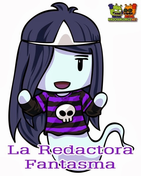 La Redactora Fantasma en Nikochan Comics Badalona