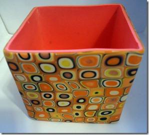 orange retro box no lid