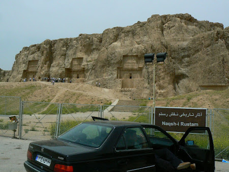 Things to see in Persepolis: At Naqsh-i Rustam