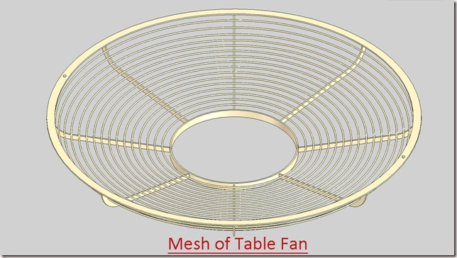Mesh of Table Fan_3
