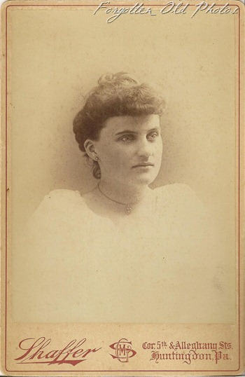 Minnie Wishart Cabinet Card Craig