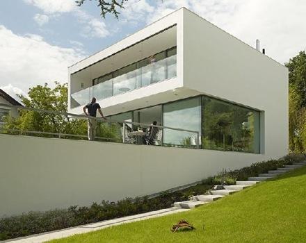 fachada-lateral-casa-Puristische-Villa