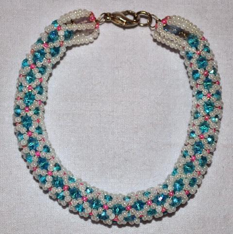 Crystal and Bead Bracelets