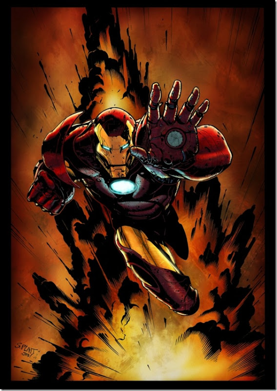 Iron man ,Anthony Edward ,Tony Stark (112)