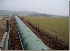 Pipeline dans la plaine