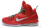nike lebron 9 gr christmas 6 01 Throwback Thursday: Look Back at LBJs 2011 Christmas Shoes