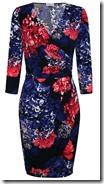 Kaliko Flower Print Dress