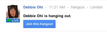 HangingOutMessage