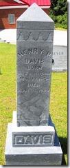 Henry P. Davis Tombstone