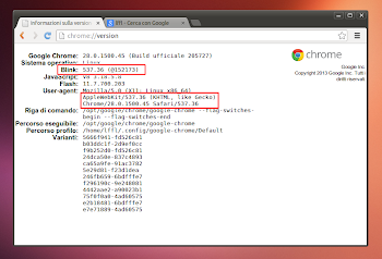 Chrome 28 Stabile in Ubuntu Linux