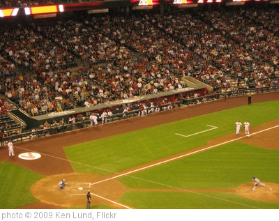 'Arizona Diamondbacks 9, Los Angeles Dodgers 4, Chase Field, Phoenix, Arizona (30)' photo (c) 2009, Ken Lund - license: http://creativecommons.org/licenses/by-sa/2.0/