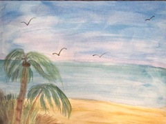watercolor palms 2012.2