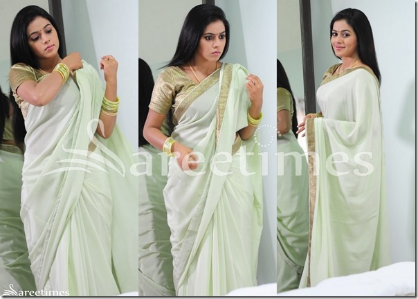 Poorna_Cream_Plain_Saree