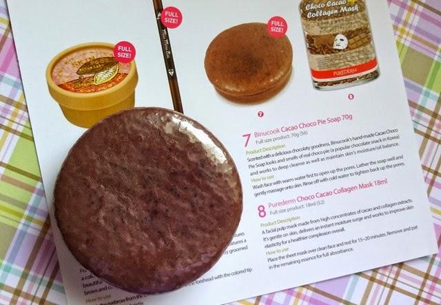 Binucook Cacao Choco Pie Soap