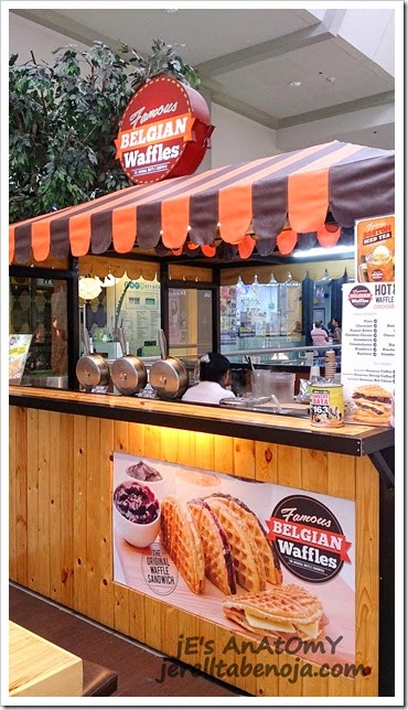 Famous Belgian Waffles, SM Manila, waffles, coffee, Malaysian coffee