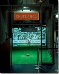 Instalação multimídia - Chute a Gol