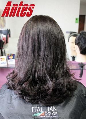 cabelo vermelho com luzes
