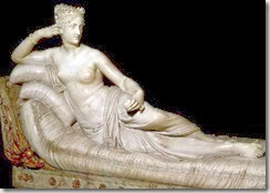 Pauline Bonaparte par Canova