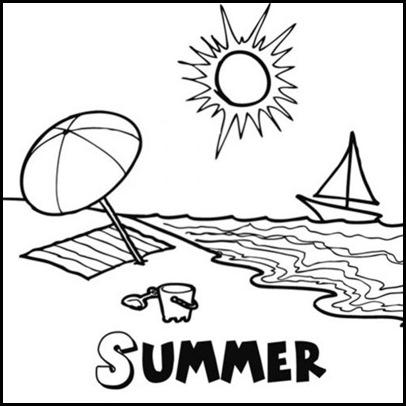 verano colorear-01