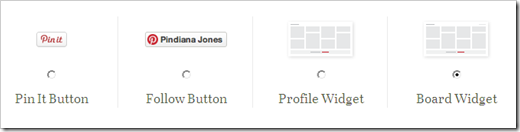display latest pinterest pins on blog