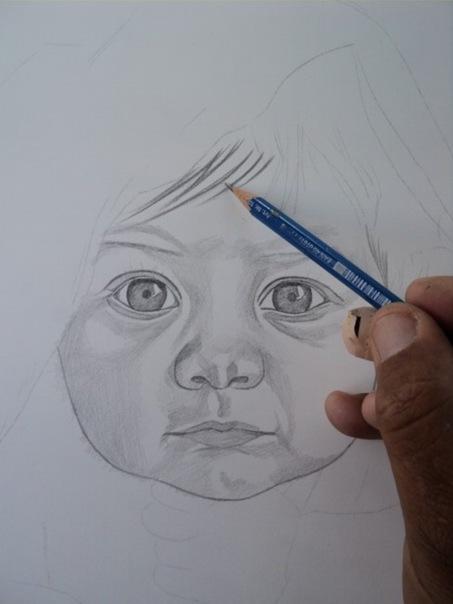 desenho de crianças a lápis 5