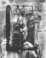 Heinz Hajek-Halke - Autoretrato - 1957-58