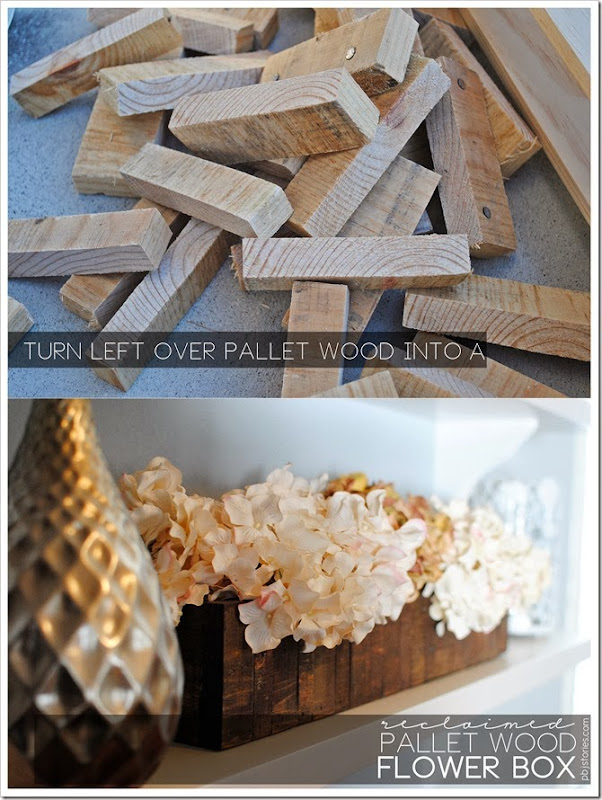 How to make a reclaimed wood flower box