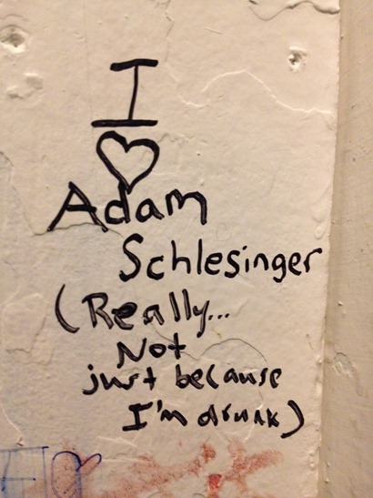 Love for Adam Schlesinger