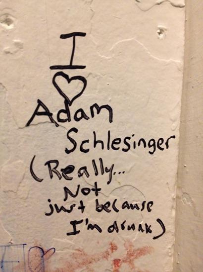 Love for Adam Schlesinger