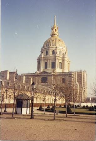 Obiective turistice Franta: Domul Invalizilor
