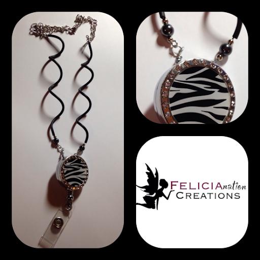 Polymer clay jewelry by Felicianation