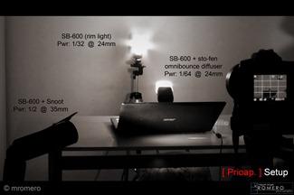 LightingSetup, mromero, prioridad de apertura, prioap, http://prioridad-de-apertura.blogpspot.com