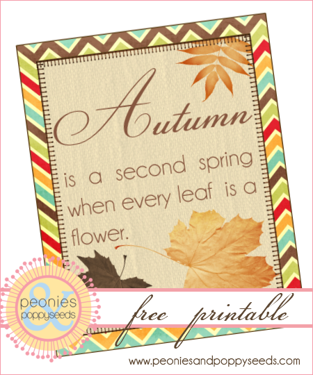 Autumn is a second spring copy