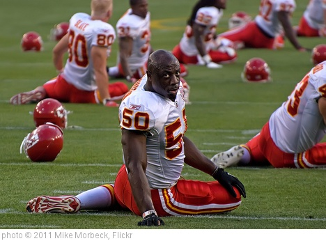 'Justin Houston' photo (c) 2011, Mike Morbeck - license: http://creativecommons.org/licenses/by-sa/2.0/