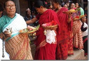 Procissão em Bhaktapur 3