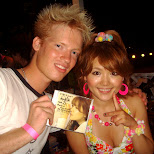 nagisa and her new CD single which she also signed for me in Yokohama, Kanagawa, Japan