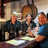 Natalie With The Cunning and Devious Duo at Langmeil Winery - Adelaide, Australia