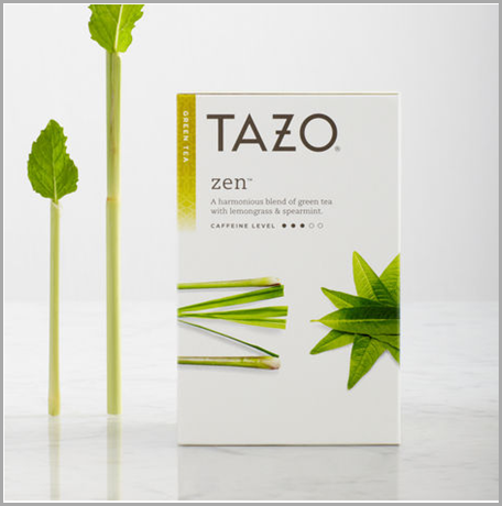 TAZO ZEN tea. CLICK to search and order from the RONTHINK Amazon store.