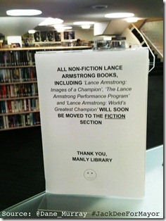 lance-armstrong-book-reclassified-fiction
