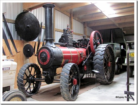 Tawhiti museum. 1908 Burrell 8HP traction engine.
