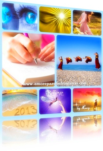 Feliz 2013! Afirmações Positivas