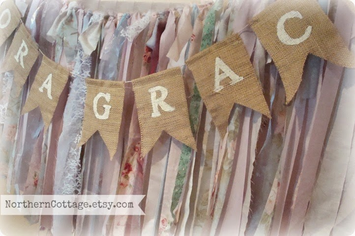 {Northern Cottage} Custom Pennant Flags