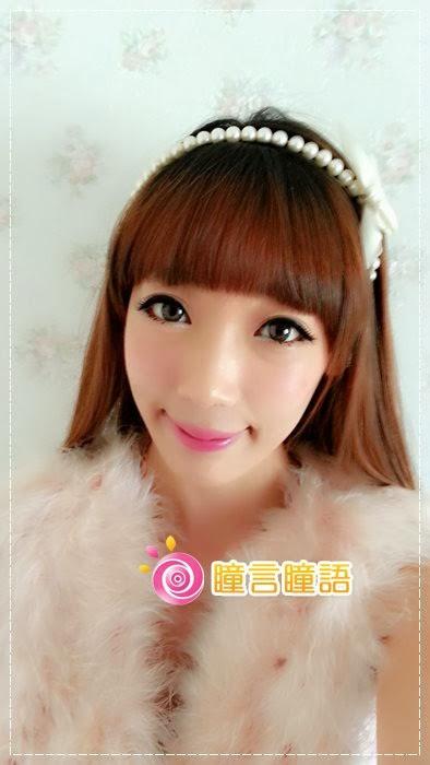 韓國GEO隱形眼鏡-GEO Eyes Cream 霜淇淋灰15