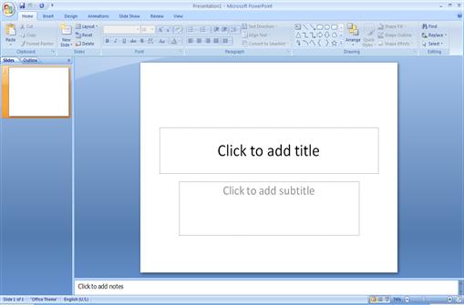 slide judul