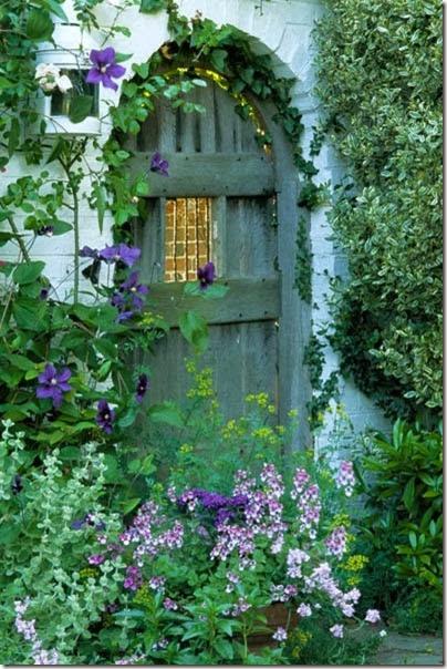 Garden gate in Sussex, Charlene Odom