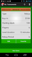 Screenshot of Poker Timer