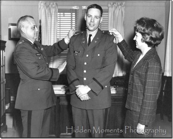 DSA USArmy promotion to Major 1969
