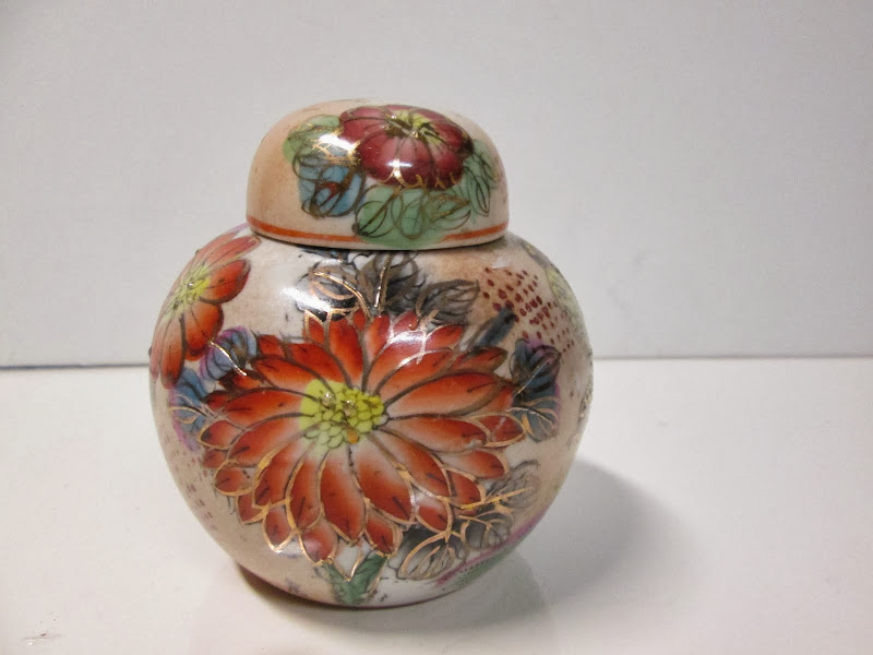Petite Asian Ginger Jar