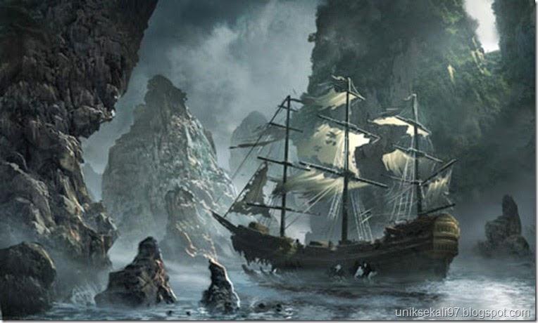 """flying dutchman"" kapal hantu pembawa petaka"