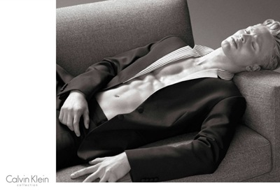 Clark Bockelman by Mert & Marcus for Calvin Klein Collection S/S 2014.  Styled by Ludivine Poiblanc